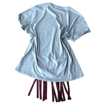 Stella McCartney T-Shirt mit Fransen