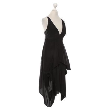 Balenciaga Silk dress in black