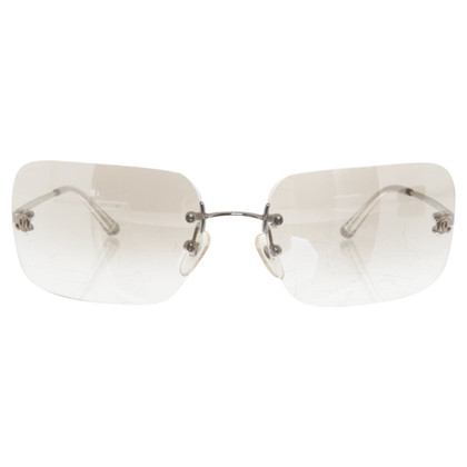 Chanel Sunglasses in silver