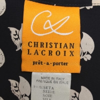 Christian Lacroix Twinset with pattern