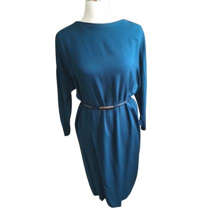 Tara Jarmon Petrolfarbenes Kleid