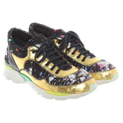 Chanel Bunte Sneakers