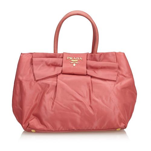 3cbe3dcee0803 Prada Handtasche in Rosa   Pink - Second Hand Prada Handtasche in ...