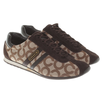Coach Lace up shoes with pattern