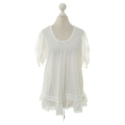 Other Designer High - blouse in white