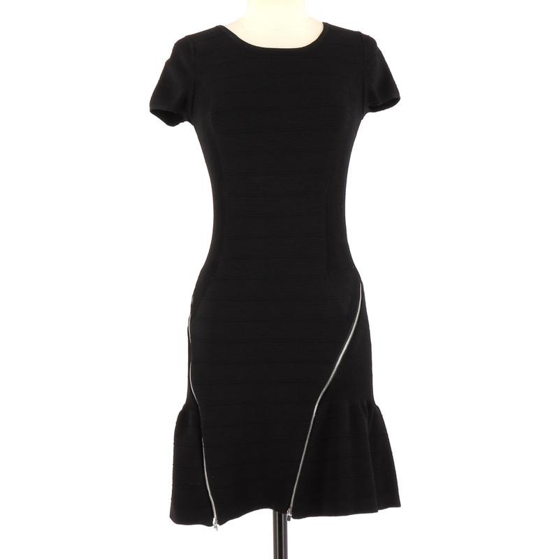 Kleid Viskose Aus Second Schwarz In Hand Maje ywv0NmOn8