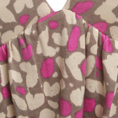 Tricolor Bunt FFC Muster in Seidenshirt Seidenshirt FFC dw0qxIX