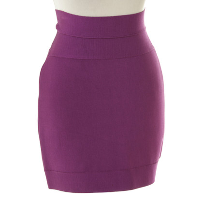 Herve Leger skirt purple