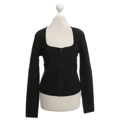 Wolford Strickjacke in Schwarz