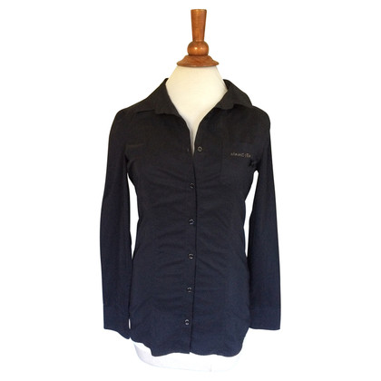 Armani Jeans Schwarzes Hemd