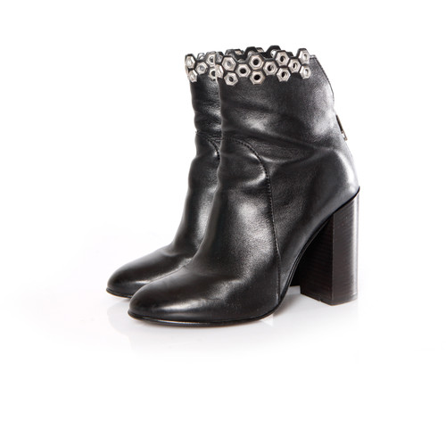 a8df90213b75b Other Designer Ankle boots Leather in Black - Second Hand Other ...