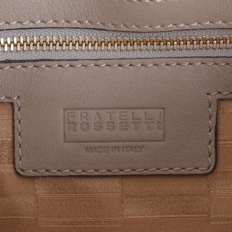 Neue Online-Verkauf Fratelli Rossetti Umhängetasche mit Pelzbesatz Bunt / Muster Billig Verkauf Sneakernews Verkauf Erkunden 21Ons5Hjl