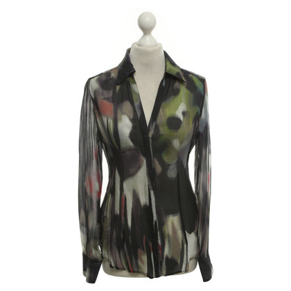 Armani Collezioni Blouse with a colorful pattern