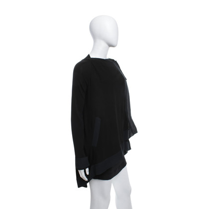 Plein Sud Blouse jacket in black