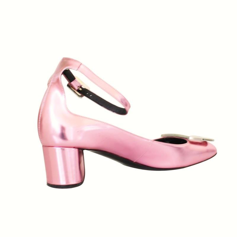 Roger Vivier Metallic Shoe