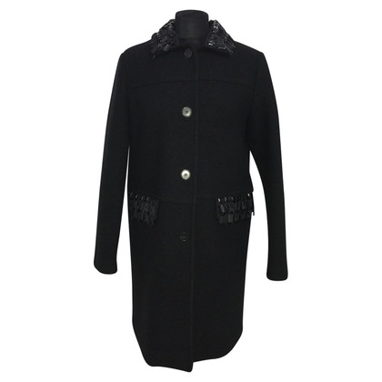 Stefanel Wool coat with sequins