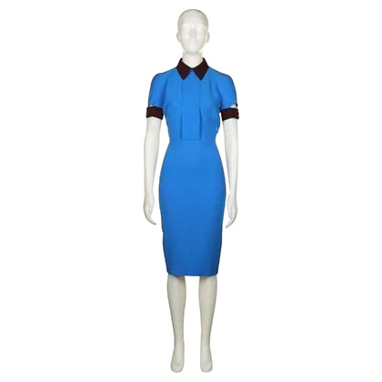 Victoria Beckham Electric blue dress