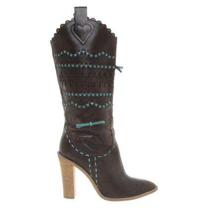 BCBG Max Azria Boots in bi-color