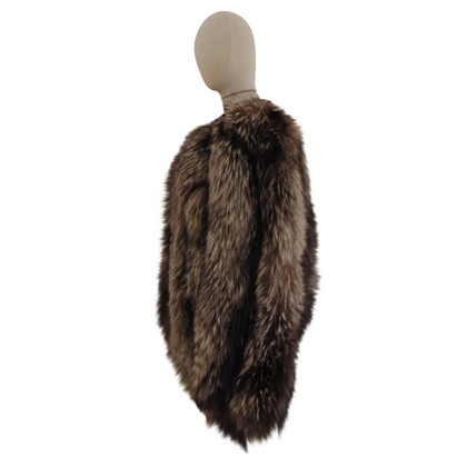 Fendi Jacket made of silver fox fur