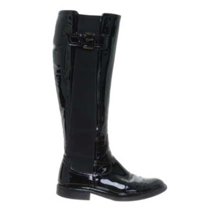 Armani Boots patent leather
