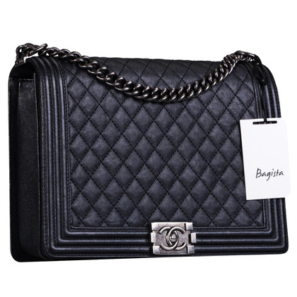 """Chanel """"Boy Bag"""" in black"""