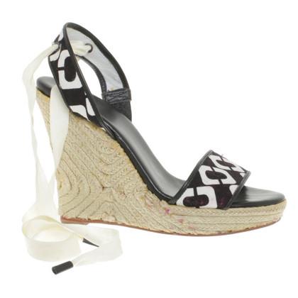 Diane von Furstenberg Sandals with wedge heel