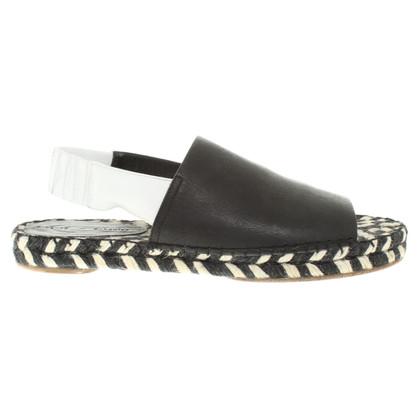 Proenza Schouler Sandali in nero / bianco