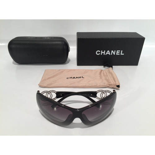 fa1613208531 Chanel Brille in Schwarz - Second Hand Chanel Brille in Schwarz ...