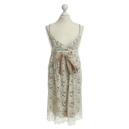 Diane von Furstenberg Lace babydoll wool white