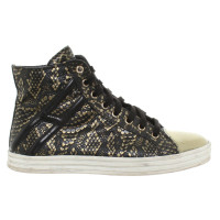 Hogan Sneaker with gold-colored details