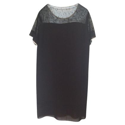 By Malene Birger Black silk dress