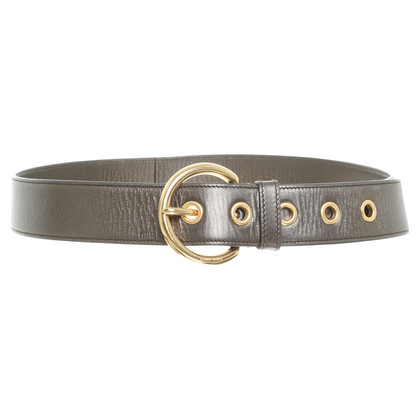 Miu Miu Belt in metallic Green