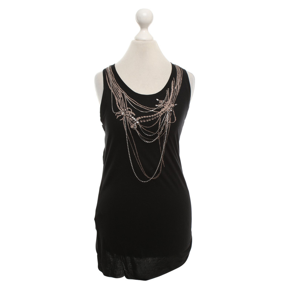 BCBG Max Azria Tank top in zwart
