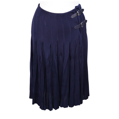 Ralph Lauren Pleated skirt in blue