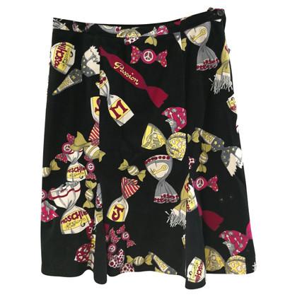 Moschino Fluwelen rok