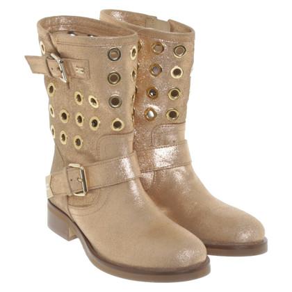 Elisabetta Franchi Gouden laarzen