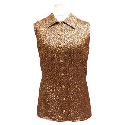 Chanel Anzug aus Seidenlamée