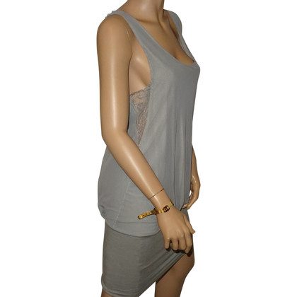 Patrizia Pepe Trägerkleid in Grau