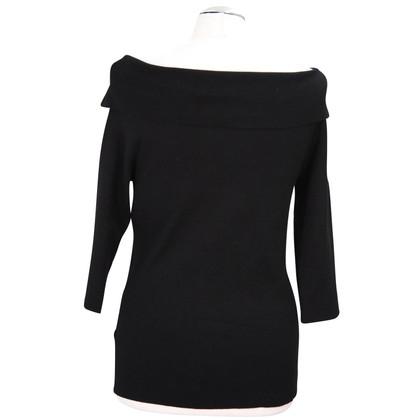 Hobbs Topless trui in zwart