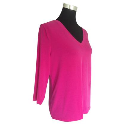Michael Kors Classic shirt in fel roze