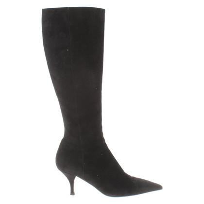 Prada Suede boots