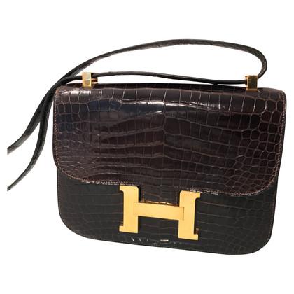"Hermès ""Constance Bag"" pelle di coccodrillo"