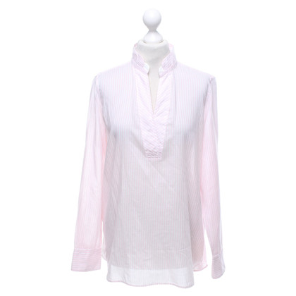 Marc Cain Blouse in Rosé / White