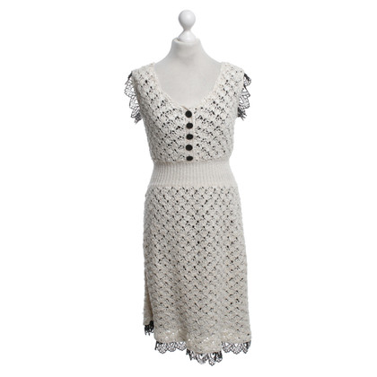 Chanel Silk dress in bicolor