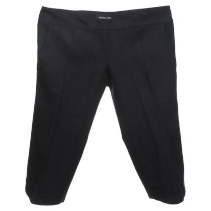 Patrizia Pepe pantaloni di lunghezza al ginocchio in nero