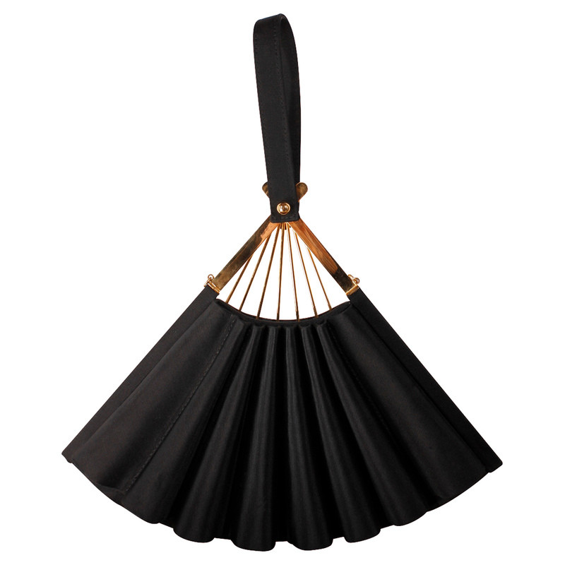 Karl Lagerfeld  Satin Fan bag