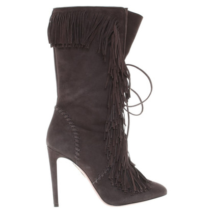Aquazzura Boots with fringe