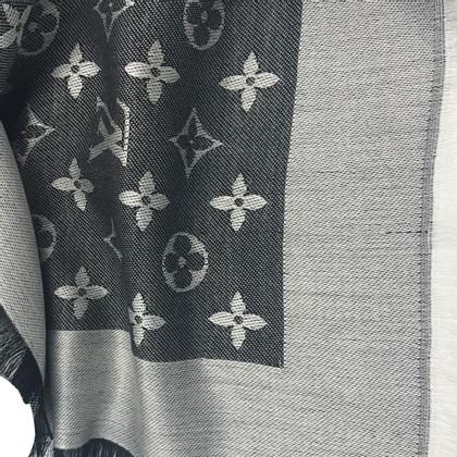 Louis Vuitton Monogram Denim panno in nero