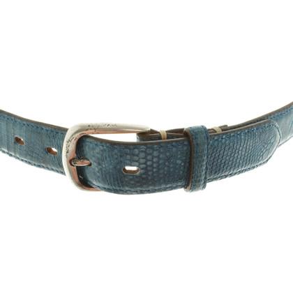Fausto Colato Belt in blue