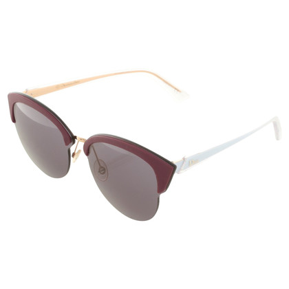 Christian Dior Cateye sunglasses with logos